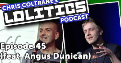 Ep45 – Angus Dunican, Chris Coltrane. March 2017